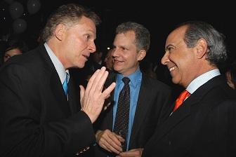 Hassan Nemazee (right) with Terry McAuliffe