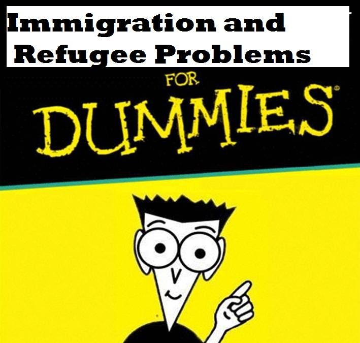 For the Confused Media: A Dummy's Guide to Immigration and Refugee Problems
